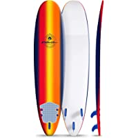 Wavestorm 8ft Classic Longboard Surfboard (Navy Sunburst)