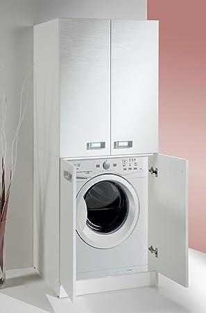 Meuble Pour Machine à Laver Avec étagère De Rangement