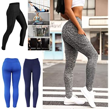edited Women Yoga Fitness Running Gym Stretch Sports Pants Trousers Leggings Pants
