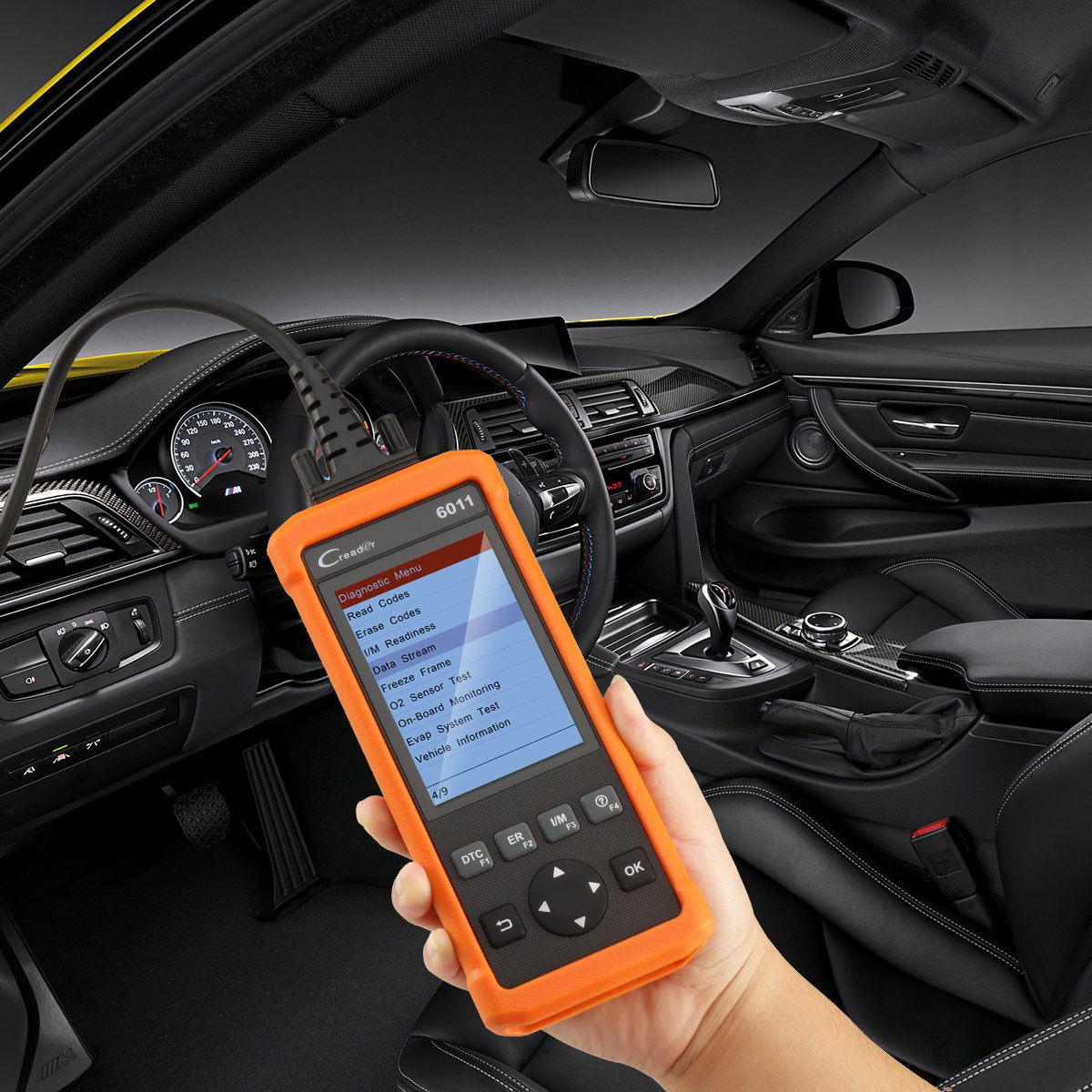 Launch CReader 6011 OBD2 EOBD Scan Tool Professional Auto ABS SRS Diagnostic Scan Tool Universal OBD2 Scanner Car Engine Fault Code Reader for OBDII Standard Vehicle by Launch (Image #6)