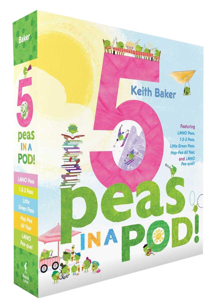 5 Peas in a Pod!: LMNO Peas; 1-2-3 Peas; Little Green Peas; Hap-Pea All Year; LMNO Pea-quel (The Peas Series)