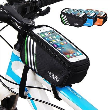 Amazon.com : AWEKY Bicycle Frame Bag, Bike Top Tube Bag High ...