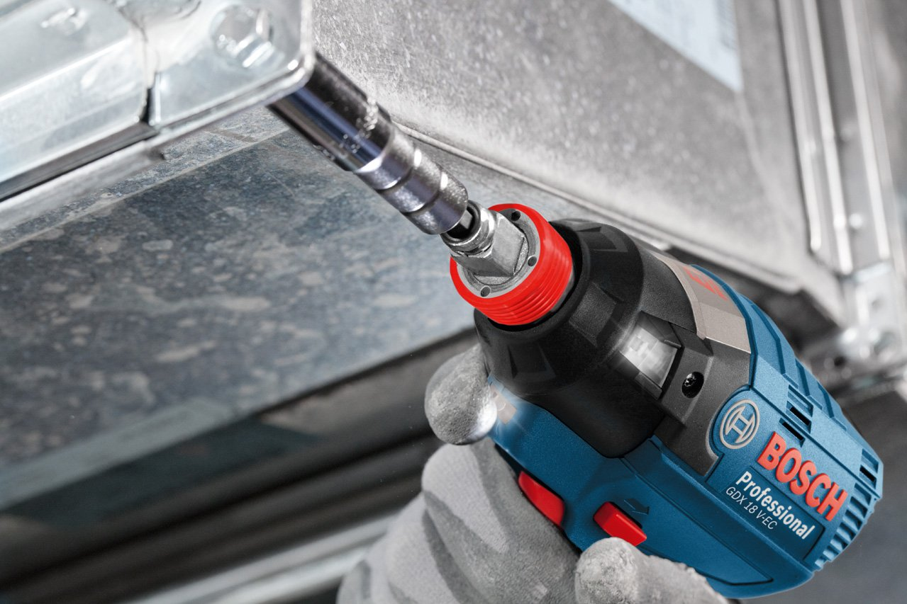Bosch Professional 06019B9100 GDX 18 V-EC Avvitatore ad Impulsi a Batteria