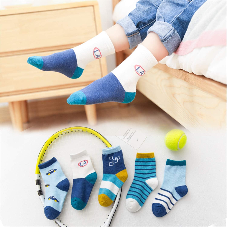storeofbaby Chaussettes pour gar/çons enfants en bas /âge 10 paires de chaussettes habill/ées en coton /à la mode