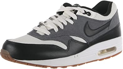 Nike Air Max 1 Essential Mens 537383 124 Black Grey Gum