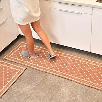Amazon.de: ERLINSAN-DT Moderne Haus Teppich Küche Teppich Anti ...