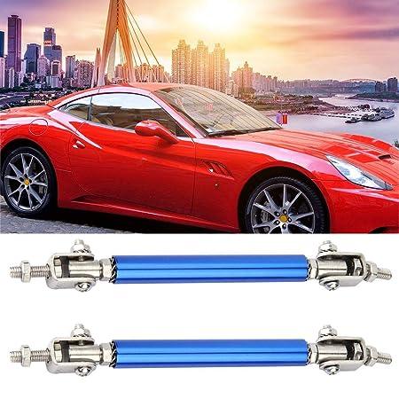 75mm Red Adjustable Front Bumper Rod Splitter Spoiler Strut Support Tie Bars