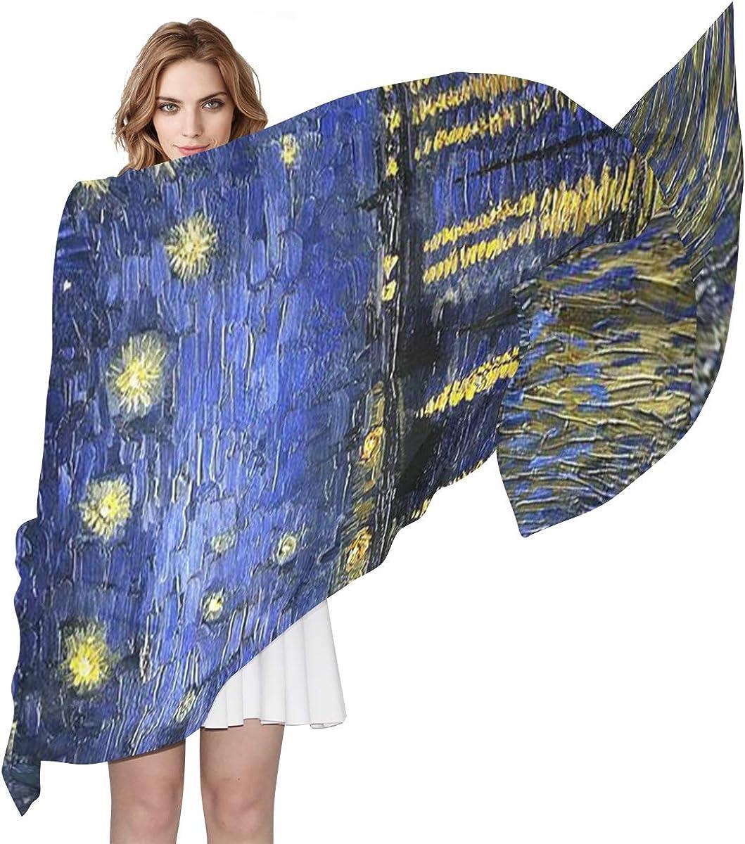 Women Accessories Silk Scarf Long Cape Beach Towel Chiffon Shawl Print Floral