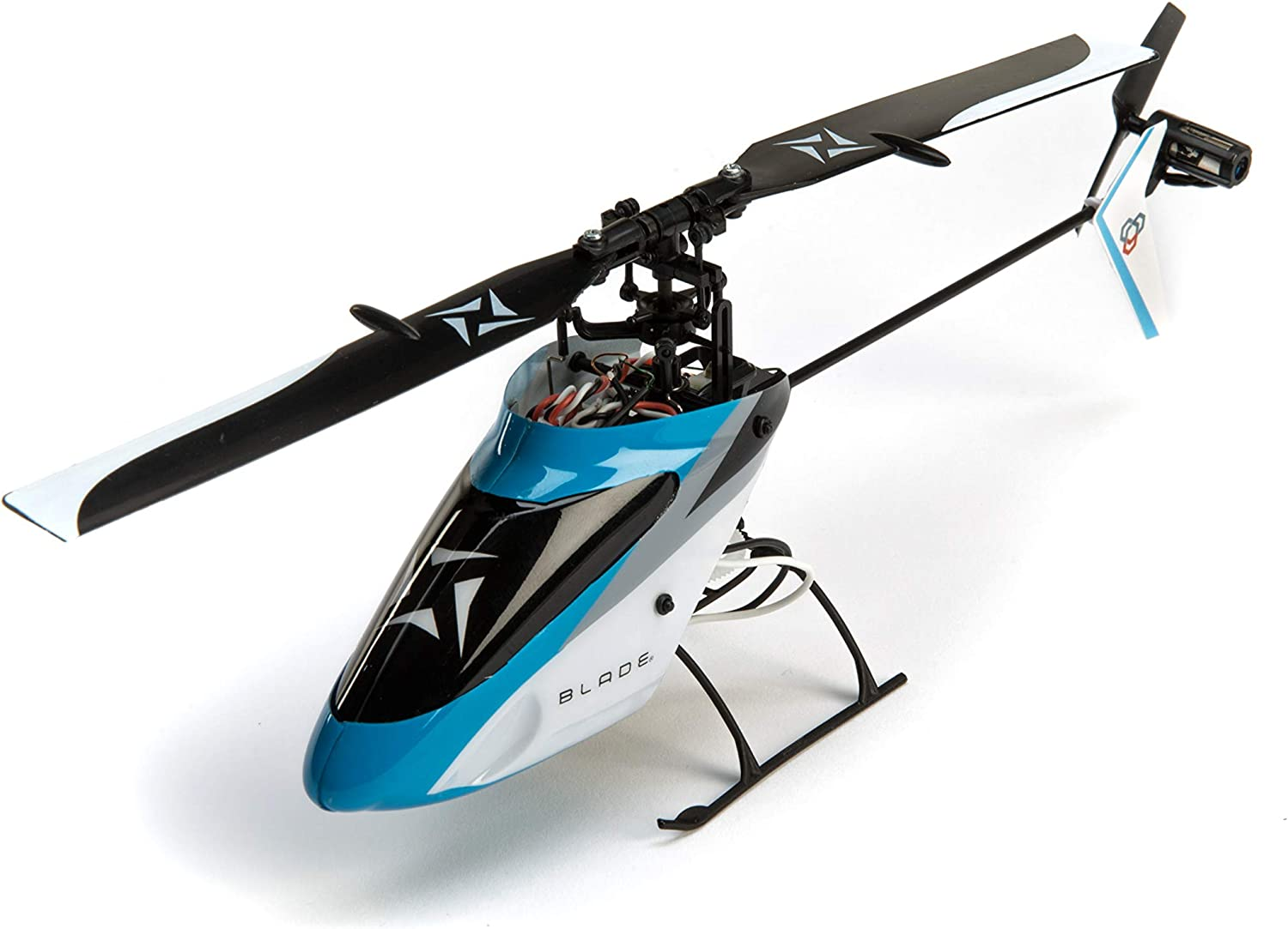 Blade Nano S2 Ultra Micro RC Helicopter BNF with Safe Tech (Includes 150mAh 1S LiPo Battery & USB Charger | Transmitter Sold Separately), BLH1380