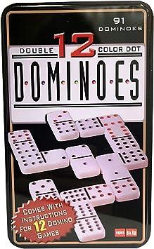 dominoes Domino Doble 12 91 Niños y Adultos Juego de táctica ...