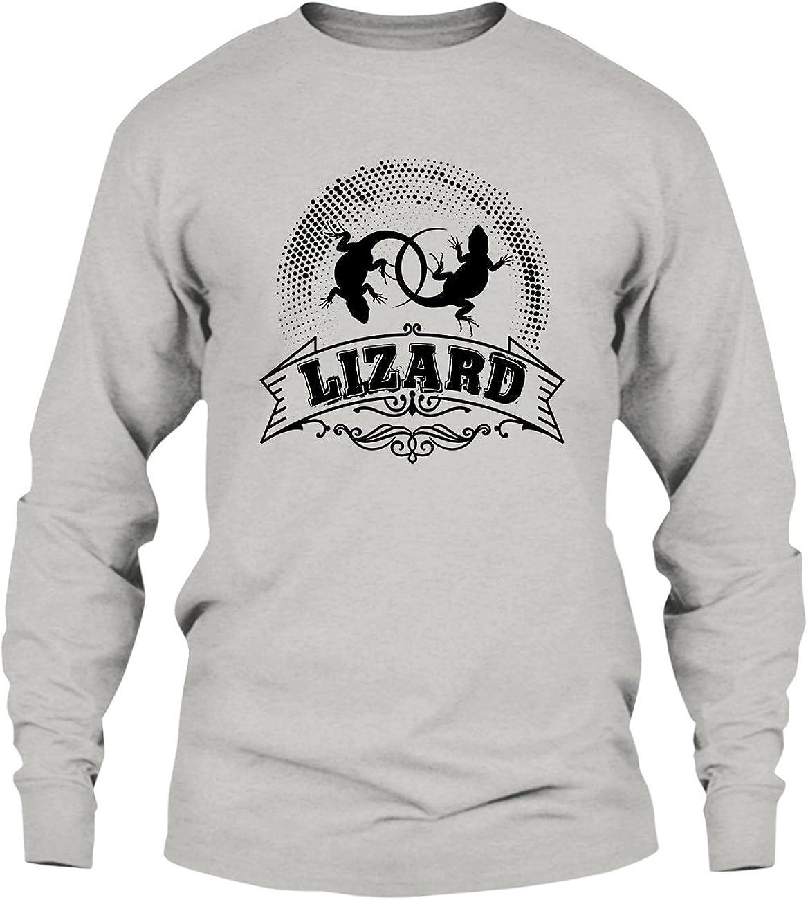Shirt Vintage Style Lizard Tee Shirt Hoodies