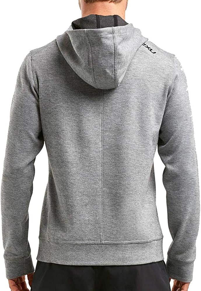 2XU Herren Urban Pullover Hoodie-Mr5237a Kapuzenpullover Grey
