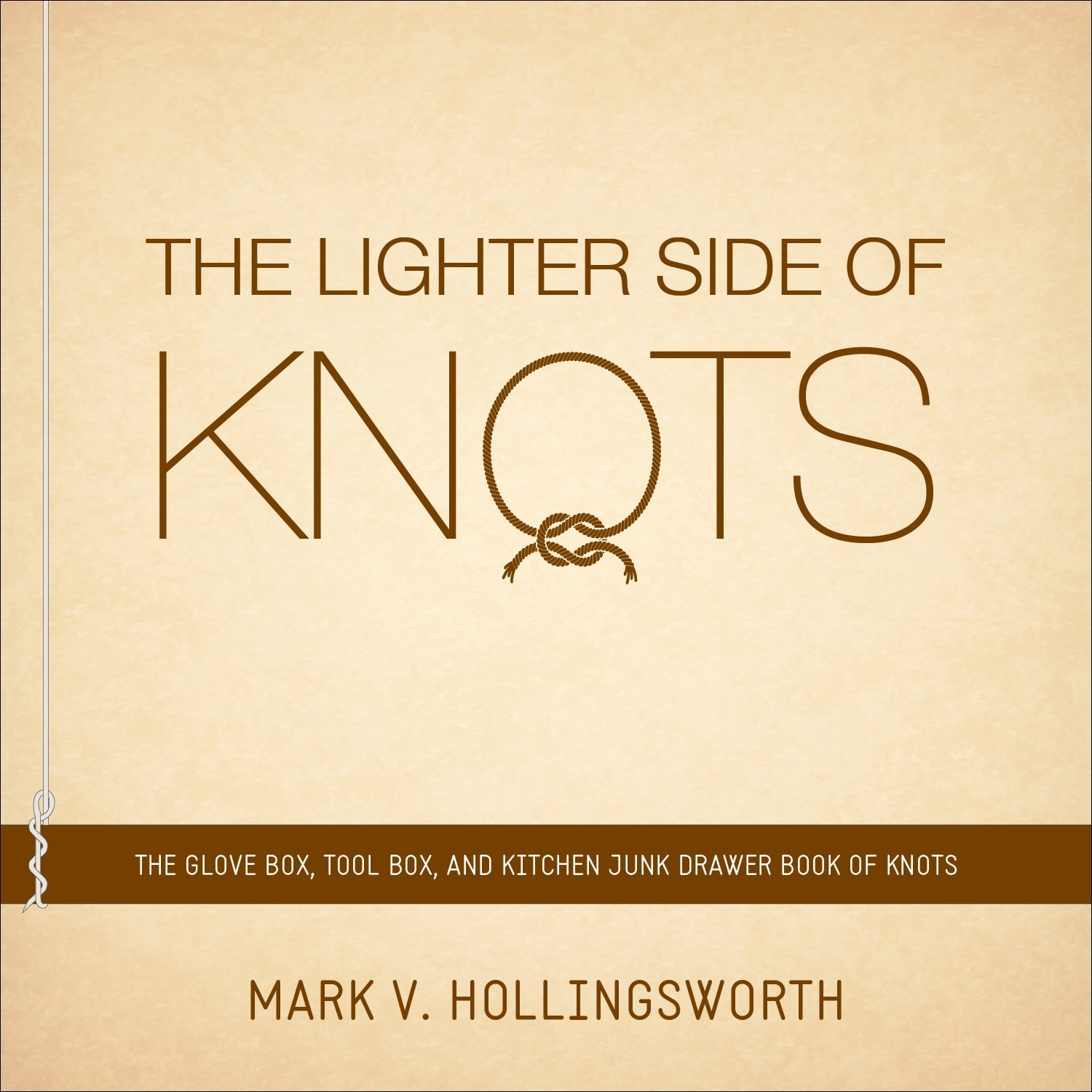 The Lighter Side of Knots: The Glove Box, Tool Box, and Kitchen Junk Drawer Book of Knots by Frederick Hollingsworth (10-Sep-2013) Paperback