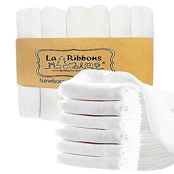 Amazon.com : Laribbons 6 Pack 20*25 inch Organic Bamboo Supersoft ...