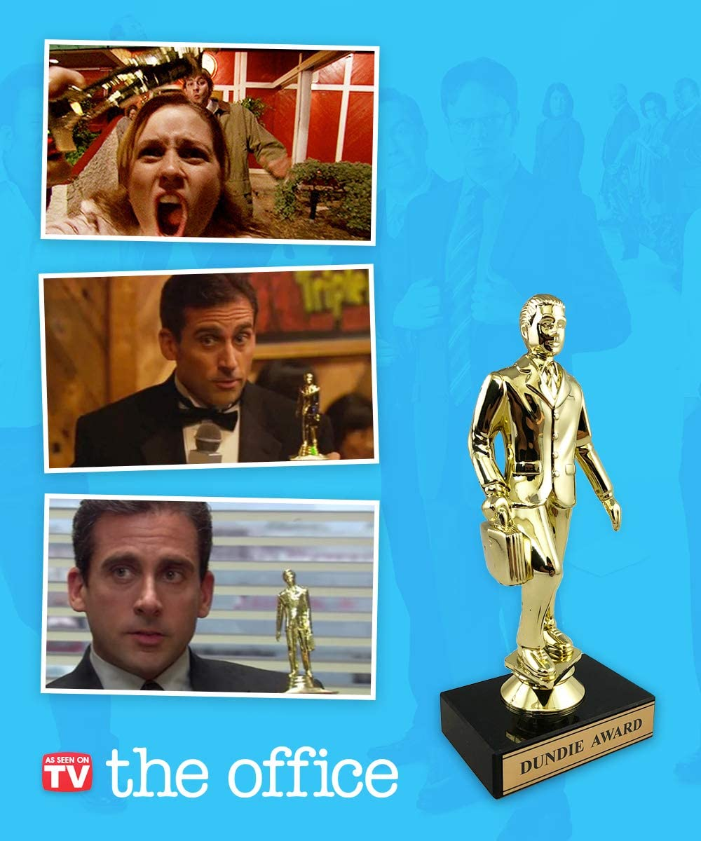 Amazon Com Dundie Award Trophy The Office Merchandise Dunder Mifflin Memorabilia Inspired By The Office Office Products