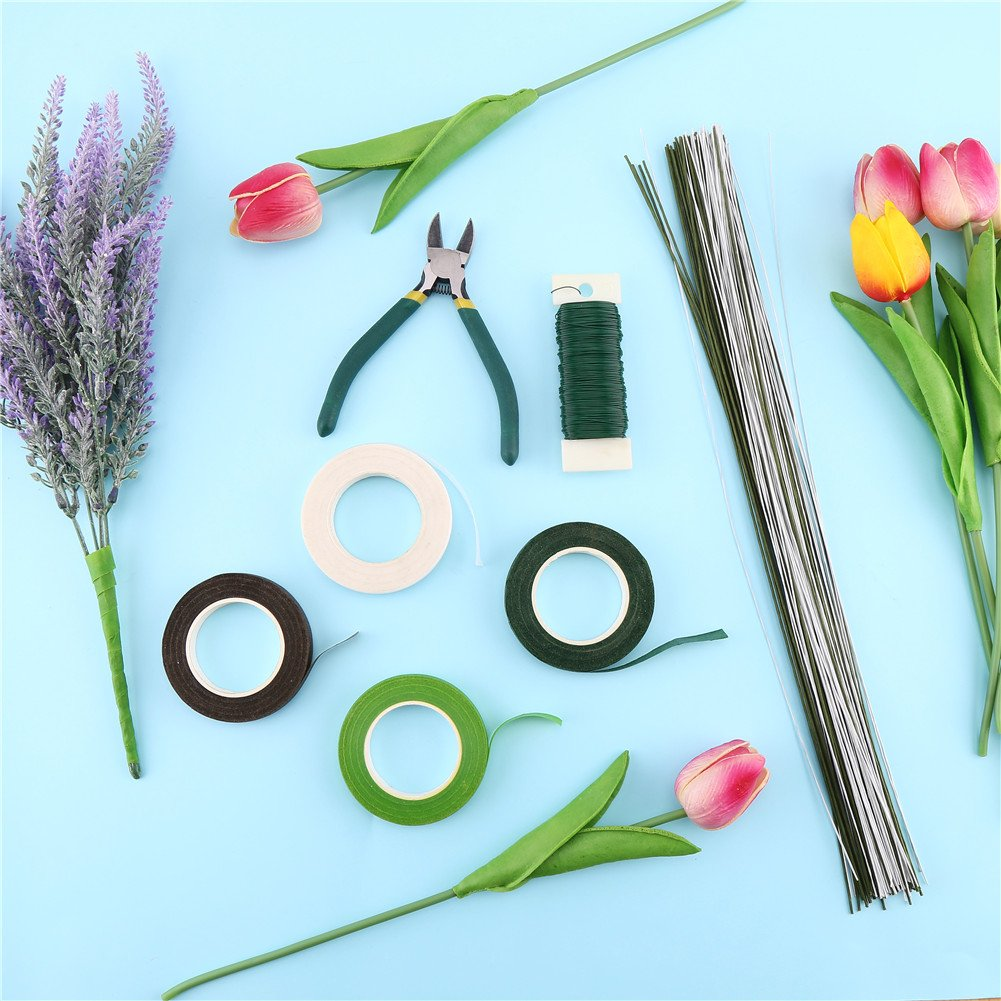 Decora Floral Tools Kits Wire Floral Stems 18 Gauge,22 Gauge and 26 ...