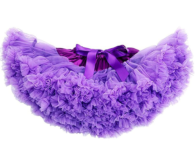 Aivtalk Girls Pettiskirts Multi Layered Princess Bow Dance Tutu Skirt 1-10T