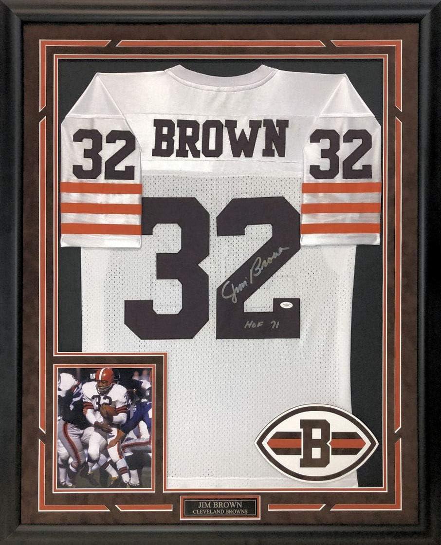 jim brown cleveland browns jersey