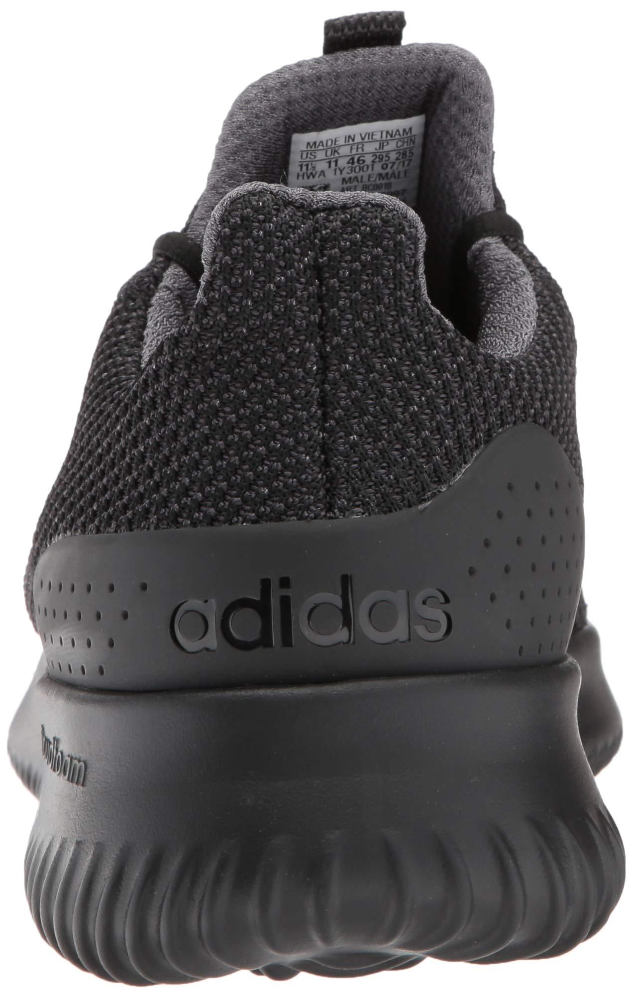 adidas Men's Cloudfoam Ultimate Running Shoe Utility Black, 9.5 M US by adidas (Image #2)