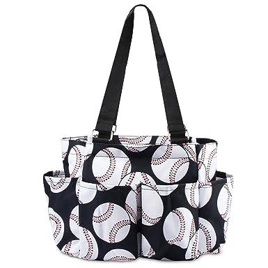 Amazon.com: zodaca béisbol 7 organizador de bolsillo Caddie ...