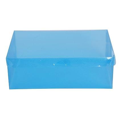 SODIAL – Zapato de Box (Buzón Zapatos cartón Caja plástico Plegable Organizador Caja Zapatos (