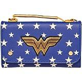 DC Comics Wonder Woman Inside Out Cross Body Wallet Clutch