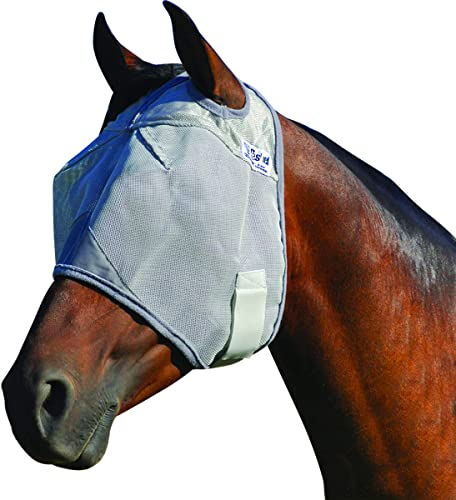 Horse Face Mask with Double licking fastener [Durvet] Picture