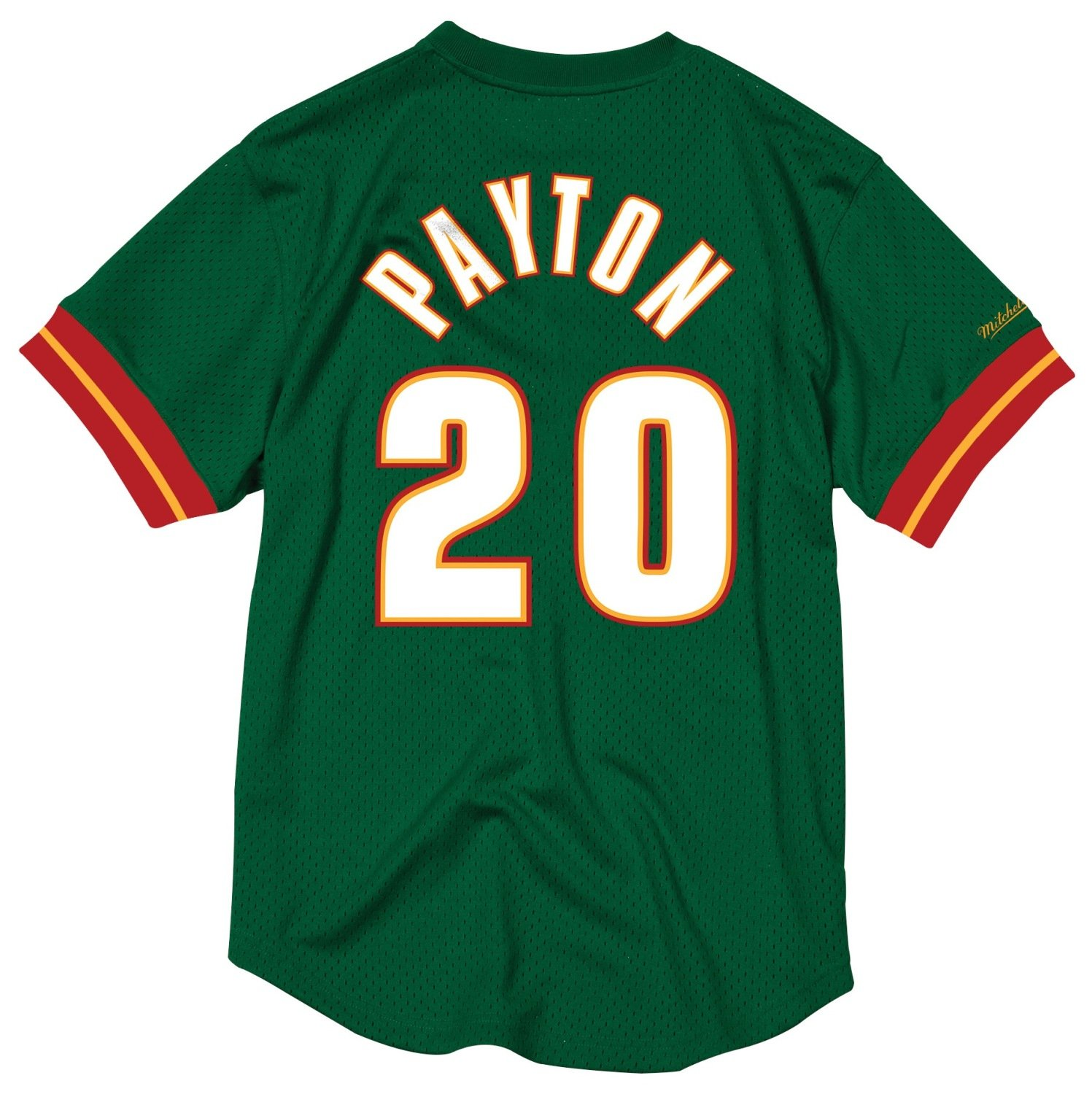fe4df4fcc1de Amazon.com   Mitchell   Ness NBA Seattle Supersonics Gary Payton  20 Mesh  Crewneck Jersey   Sports   Outdoors