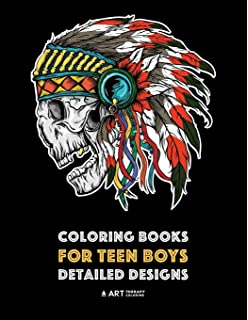 Amazon Com Coloring Book For Teenage Boys Coloring Books For