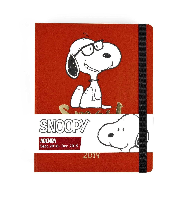 Grupo Erik Editores Snoopy - Agenda 16 Meses 2019, 16.5 x 20 cm