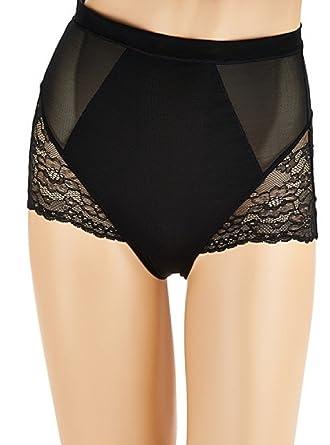 acc5da99e18 SPANX Spotlight Lace Brief - Black -  Amazon.co.uk  Clothing