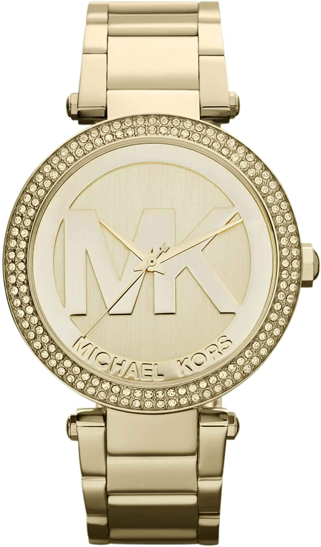 Michael Kors Women s Parker Gold-Tone Watch