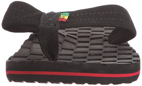 Vans Men s Thresher (Checkerboard) Black Rasta Flip Flops Vxd55Gv Checkerboard  Black Rasta 12 UK  Amazon.co.uk  Shoes   Bags 121a16478