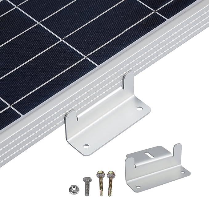 Amazon.com: Soporte de montaje en panel solar Z para ...