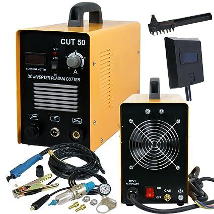 super deal dc inverter plasma cutter machine with screen display rh amazon com