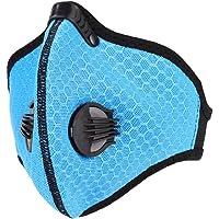 Vbestlife Máscara a Prueba de Polvo Máscara de Bicicleta al Aire Libre Ciclismo Anti-Polvo Máscara Facial para Entrenamiento Deportivo Correr Ciclismo Negro, Azul, Naranja