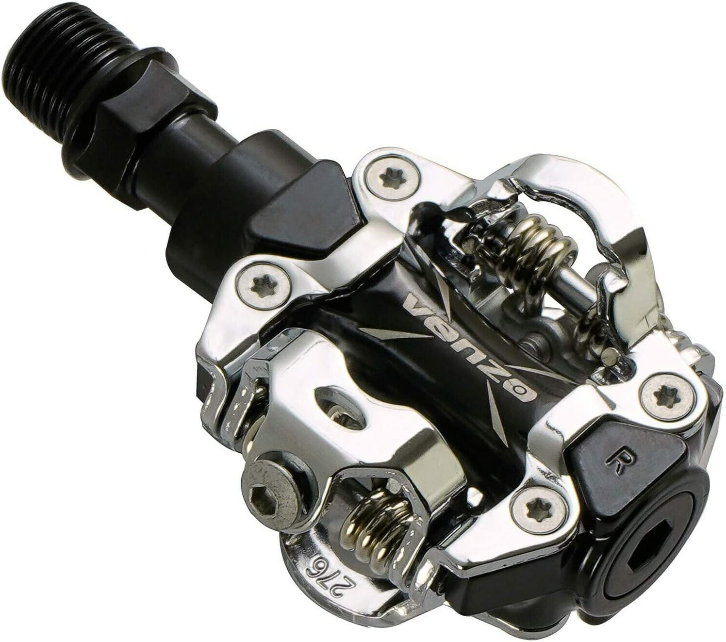 Free Shipping! Shimano  PD-M520-L SPD Mountain MTB Clipless Pedals w// Cleats