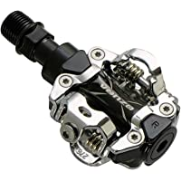 VENZO MTB Mountain Bike Sealed Clipless Pedals Compatible with Shimano SPD Type Cleats SM-SH51 - MTB Shoes - Easy Clip…