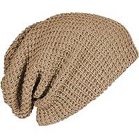 Ruphedy Men Slouch Beanie Knit Hat Long Oversize Beanie Cap for Summer Winter
