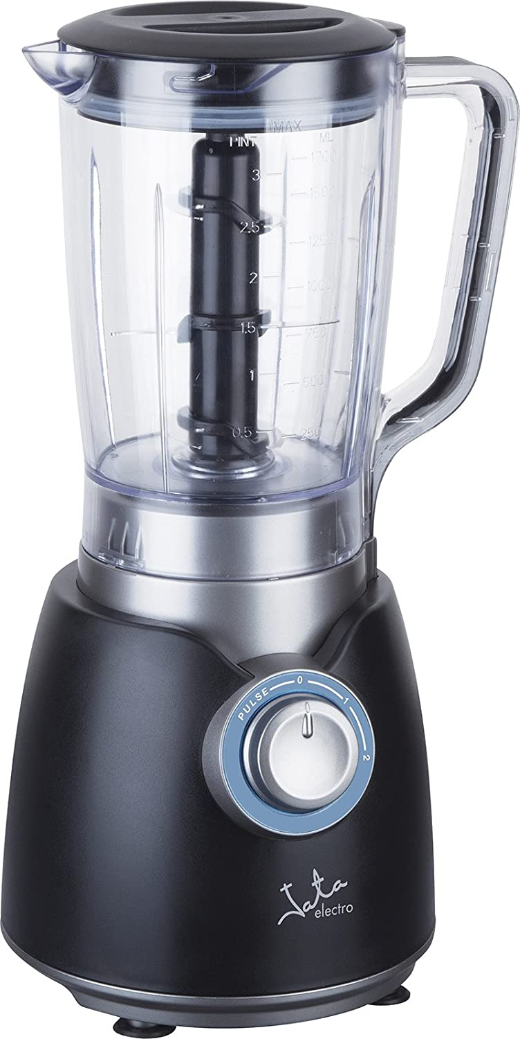 JATA BT800 Glass Blender Black, Blue, Transparent 2L 800 W - Blender (Stainless Steel, Plastic, Plastic, Stainless Steel): Amazon.co.uk: Kitchen & Home