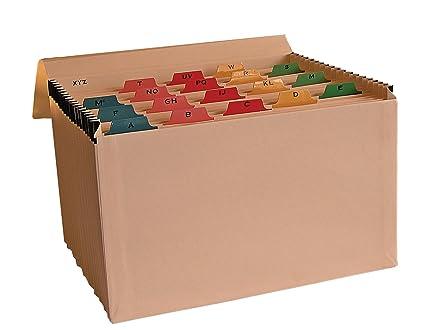 AZ - Clasificador de fuelle con pestañas multicolores