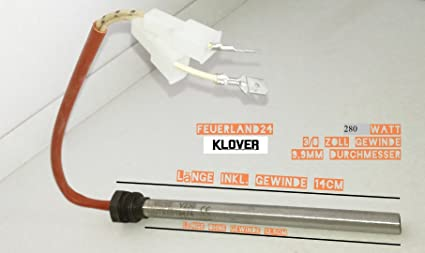 250 Watt petardo bujía para estufa de pellet estufa de pellets