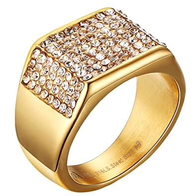 gold rings mm edge comfort finish satin band beveled fit wedding mens yellow p with