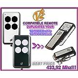 V2 MATCH white / V2 MATCH black Compatible Télécommande, 4 canaux 433,92Mhz fixed code CLONER. Remplacement de haute qualité pour LE MEILLEUR PRIX!!!