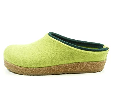 Kris Grizzly, Chaussons Mules Femme, Vert (Canary 98), 39 EUHaflinger