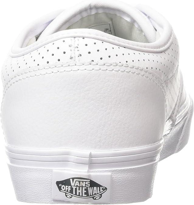 Vans Herren Atwood Sneakers, Weiß (perf LeatherWhiteWhite