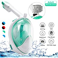 Bfull Face 180 Panoramic Sea Full Face Snorkel Mask