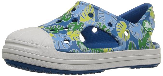 Crocs BumpIt Tropical Sandal K GGn/Oyster 33-34EU