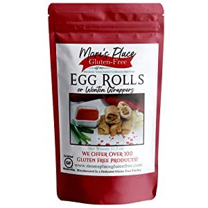 Gluten-Free Egg Roll or Wonton Wrap Mix