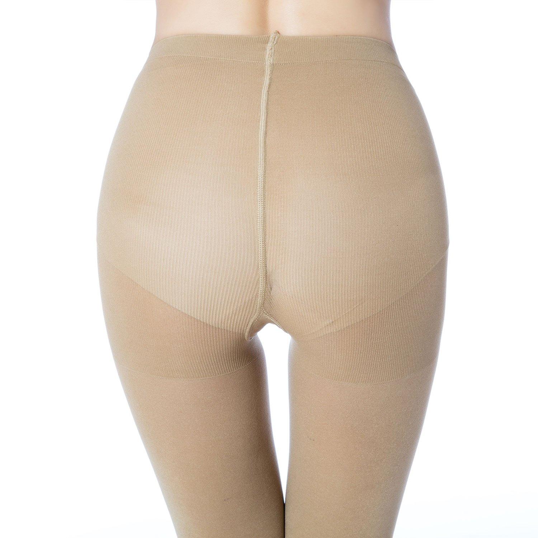 MANZI Womens 1-6 Pairs Opaque Control-Top Tights 70 Denier
